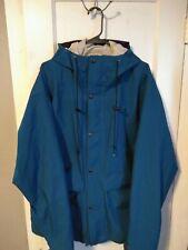 Vintage North Face Goretex Large Blue Windbreaker Jacket