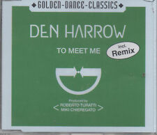 Den Harrow To Meet Me incl. Remix Maxi CD NEU Golden Dance Classics