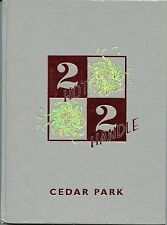 Cedar Park Middle School Leander ISD TX ORIGINAL 2002 yearbook history genealogy