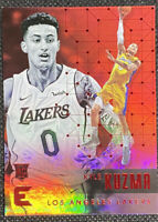 Kyle Kuzma 2017-18 Panini Essentials Basketball Red #179 Los Angeles Lakers