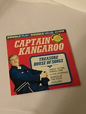 Collectible CAPTAIN KANGAROO Treasure House Of Songs 45 RPM - 1966 Wonderland