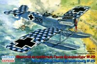 EST-72163 Eastern Express 1/72 Hansa-Brandenburg W.29 Floatplane WW1 model kit