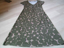 BODEN LADIES SIZE 6R BIG SPOT ROUCHED JERSEY DRESS