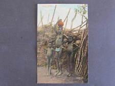 Kraal Attire Natives Capetown South Africa Postcard