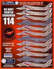 Furball Decals 1/48 GRUMMAN F-14A TOMCAT Colors & Markings U.S. Navy Tomcats #11