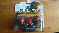 Halo Casques 3-Pack Vague 1 ROUGE Casques Mark VI NEM CQB Helmets 2009