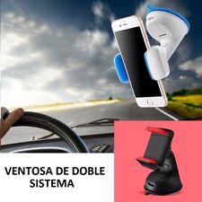 SOPORTE DE VENTOSA PARA COCHE MOVIL GPS IPHONE 7 6 PLUS 8 PIXEL MATE LG G7 V30