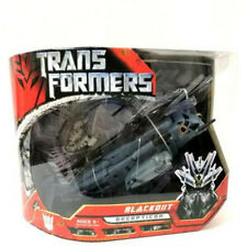"Genuine Transformers Voyager Blackout  7"" Action Figure In Box"