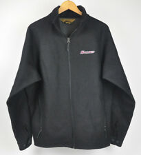 Salukis Tri-Mountain Jacket Gold Black Wool Polyester Fleece Lined Men's Sz L