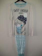Ex Marks & Spencer ladies Tatty Teddy pyjamas size 20-22
