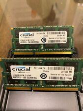Crucial PC3-8500 8GB (2x4GB) SO-DIMM 1066 MHz PC3-8500 DDR3 SDRAM (CT4G3S1067M)