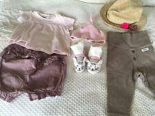 - BABY GIRL CLOTHES. BUNDLE 6 ITEMS  NEWBIE - JOULES   PETIT BATEAU NEXT -