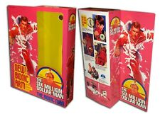 "Kenner Six Million Dollar Man Bionic Man Box for 13"" Action Figure"