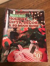 Hancock Fabrics Holiday Gifts,Decor & So Much More Magazine Issue Holiday 2003