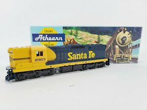 Athearn 3821 Santa Fe EMD SD9 Dummy Train Engine Kit HO Vintage NEW