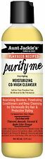 Aunt Jackies Flaxseed Recipes Purify Me Moisturizing Co-wash Cleanser 12 oz