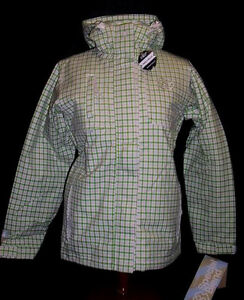 $240 NEW 15.OOOmm WOMENS SPECIAL BLEND N3 MARCH INSULATED SNOWBOARD JACKET XS