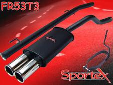Sportex Renault Clio performance exhaust system 1.2i 1998-2005