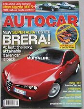 Autocar 8/11/2005 featuring Ford Focus ST2,Honda Type-R,Mini Cooper,Vauxhall, VW