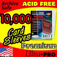 10,000 ULTRA PRO PLATINUM PREMIUM CARD SLEEVES 81385
