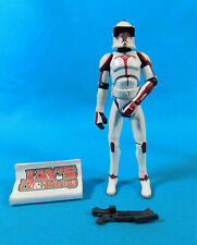Star Wars The Clone Wars Clone Trooper Riot Control 2008 Hasbro