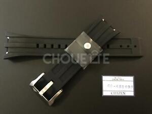 Citizen Promaster BJ2135-00E, B741-S065551 26mm Black Rubber Watch Band Strap