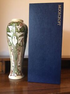 """Moorcroft """"Remember"""" Limited Edition Tall Vase"""