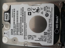 "Western Digital WD Black 320 GB, 7200 RPM, 2.5"", WD 3200LPLX,"