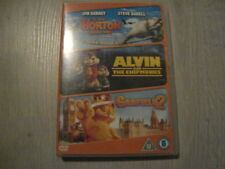 HORTON , ALVIN AND THE CHIPMUNKS , GARFIELD 2 - ( CHILDREN / FAMILY ) 3 DVD SET