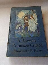 Vintage A Brownie Robinson Crusoe by Charlotte Herr-1920-RARE