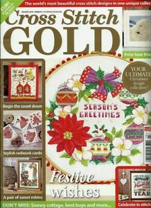 British Cross Stitch Gold magazine #51 Nov/Dec 2015