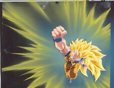 Super Saiyan 3 Goku Cel - Rare Dragon Fist Attack - Movie dragonball dragon ball