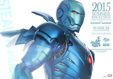 Hot Toys MMS314 - D12 Iron Man Mark III Stealth Sideshow Marvel Limited UK mk 3