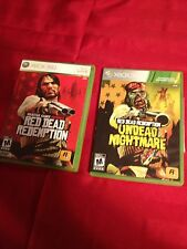 Red Dead Redemption Xbox 360 Lot- Original & Undead L@@K