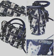 Royaltex Highland Terrier Tapestry Carpet Kitsch Tote Bag