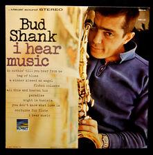"BUD SHANK   ---  "" I HEAR MUSIC ""  ---  LP"