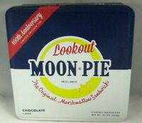 Lookout Moon Pie Cookie Collector Metal Tin 2017 100th Anniversary