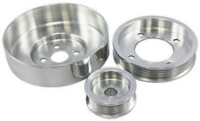 1994-1995 Ford Mustang 5.0L GT LX Polished Aluminum Serpentine Pulley Set