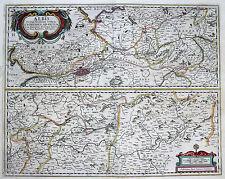Originaldrucke (bis 1800) aus Deutschland mit Landkarte