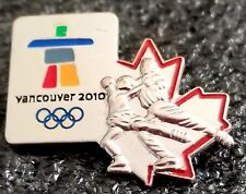 2010 Vancouver Olympic Ice Dancing Figure Skating pin