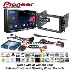 Pioneer Double Din DVD CD Player Car Radio Install Mount Kit Harness Bluetooth