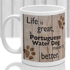 Cane d'Acqua Portoghese Tazza per cani, ideale Regalo per Amante dei Cani