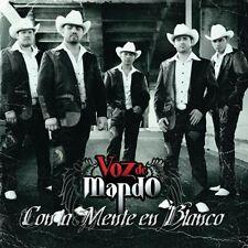 Voz de Mando - Con la Mente en Blanco [New CD]