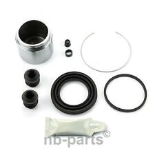 Brake Caliper Repair Kit + Piston Front 57 mm Rep Set Sealing Set Brake Pliers