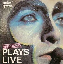 Peter Gabriel Plays live-Highlights (1983) [CD]