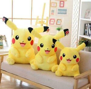 30cm Pikachu Puppe Plüschtier POKEMON Stofftier Kuscheltier Kuscheltiere DE
