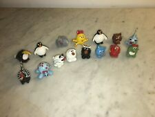 Vintage Miniature Whimsical Lot of Handmade Painted Clay Animals & Sea Creatures