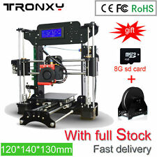 Easy Assemble Tronxy 3D Printer High Precision Reprap Prusa i3 120*140*130mm Kit