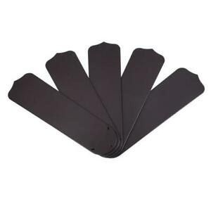 """52"""" Outdoor Replacement Dark Brown Finish Ceiling Fan Blades"""