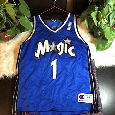 VTG Champion Tracy McGrady Jersey Orlando Magic RARE NBA Vintage 90s Size 44